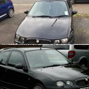 MG ZR - Black COB