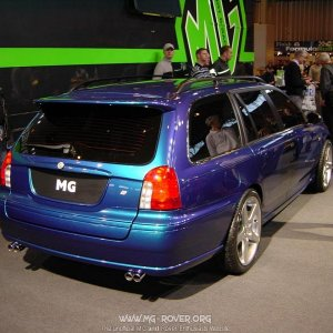 ZTT Concept - sadly, only the V8 has the twin tail pipes