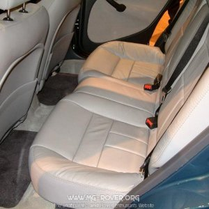 Rear Seats in the 45