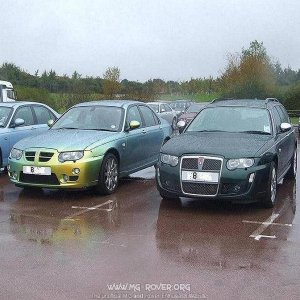 V8 75 and ZT at gaydon   on 08 plates wow super cars