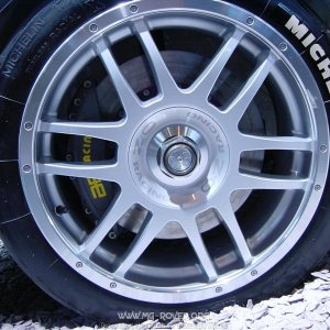 Front Brakes from the MG EX258 Rally Car