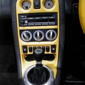 MGF Trophy 160 Center Console