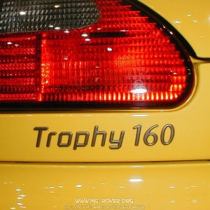 Trophy 160 Badge
