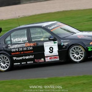 Turkington at the Old Hairpin