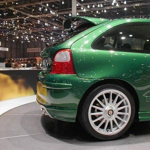 MG ZR Rear End!