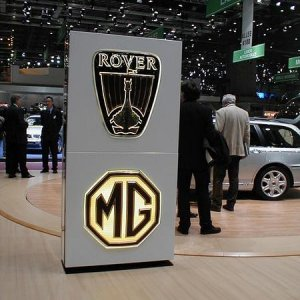MG Rover Stand