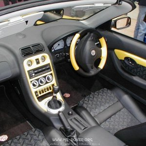 MGF Trophy 160 Interior