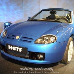 MG TF (Trophy Blue)