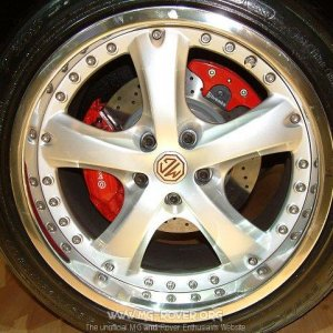 MG SV Rear Wheel