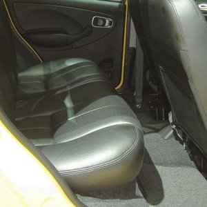 Tata Indica Rear Seats