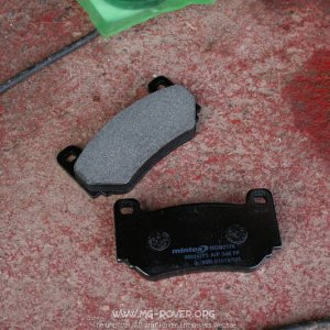 New brake pads (TF160)