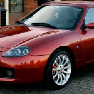 MGF in Firefrost Red - Image Credit Andrew Roberts
