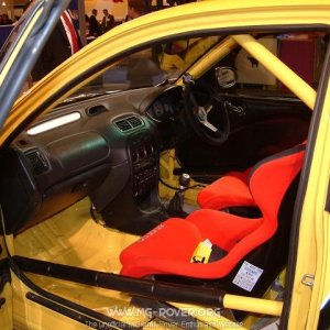 MG Express HSSV Interior