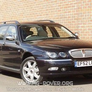 Rover 75 Tourer Connoisseur SE in Nightshade