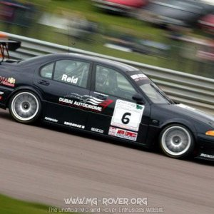 MG ZS At Thruxton