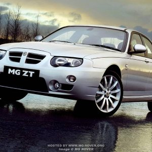 04 Model Year MG ZT (Facelift)
