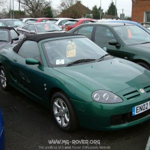 British Racing Green TF
