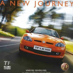 LE500 Brochure front cover