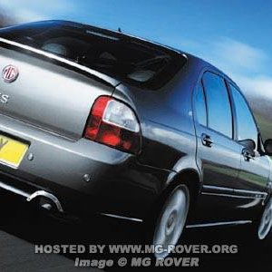 2004 Facelift MG ZS Hatch