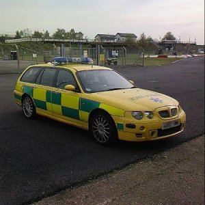 Cosford Ambulance  1