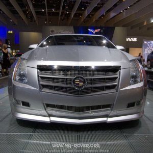 Cadillac at the London Motorshow
