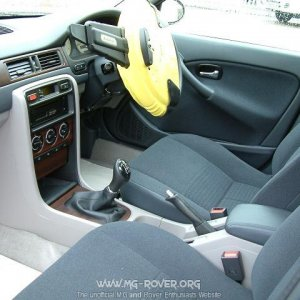 Rover 45 Club Saloon Interior