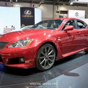 Lexus at the Motorshow
