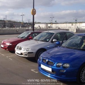 Bluewater Meet - Coupe, R25, & ZR