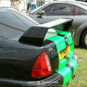 XPower ZS - Rear Wing
