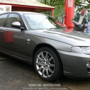 MG ZT V8 at Brooklands