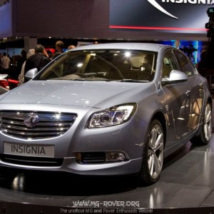 The new Vauxhall Insignia