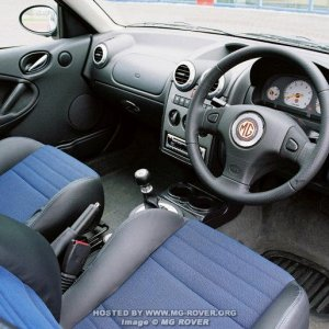 2004 Facelift MG ZR Interior