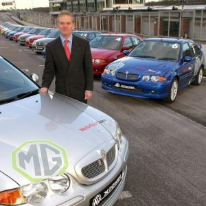 Jonathan Palmer Chooses MG