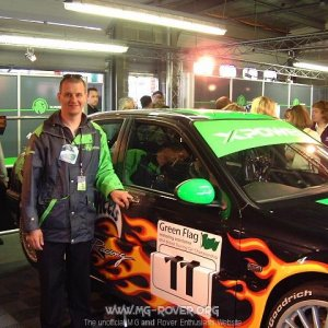 Dr Dave and the MG BTCC Car