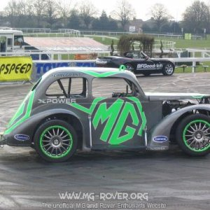 Terry Grant's MG