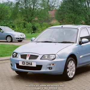 2004 Facelift Rover 25 & New 45