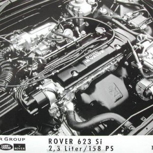 Rover 623 engine