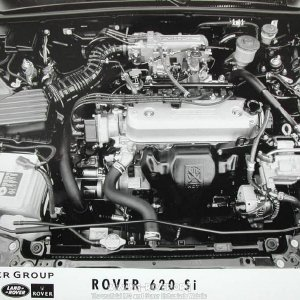 Rover 620 engine