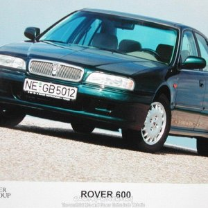 "Rover 600 ""the best Rover ever"""