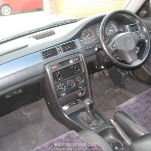 Rover 400 Black Interior