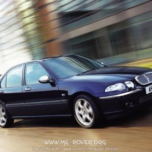 2003 Model Rover 45 Saloon