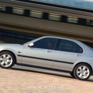 2003 Model Year Rover 45 Hatch
