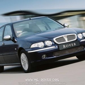 2003 Model Year Rover 45 Saloon