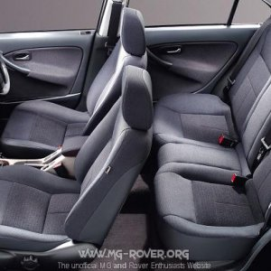2003 Model Year Rover 45 Interior