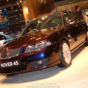 Rover 45 in 'Dark Fantasy'