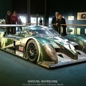 Bentley Lemans Winning Car