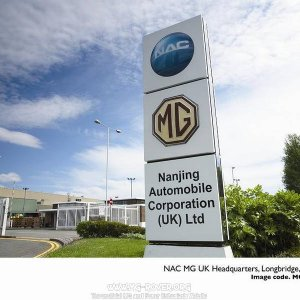 NAC MG UK Headquarters, Longbridge, May 2007
