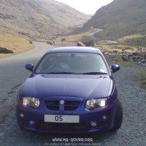 ZT on Honister pass