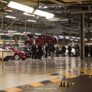 MG6 Production area