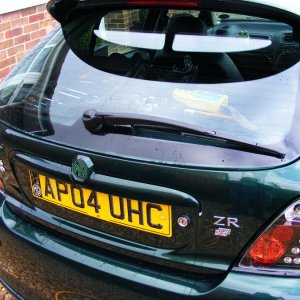 Mk2 rear wiper newly fitted